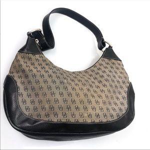 5 for $30 Dooney & Bourke DB Canvas Shoulder Bag
